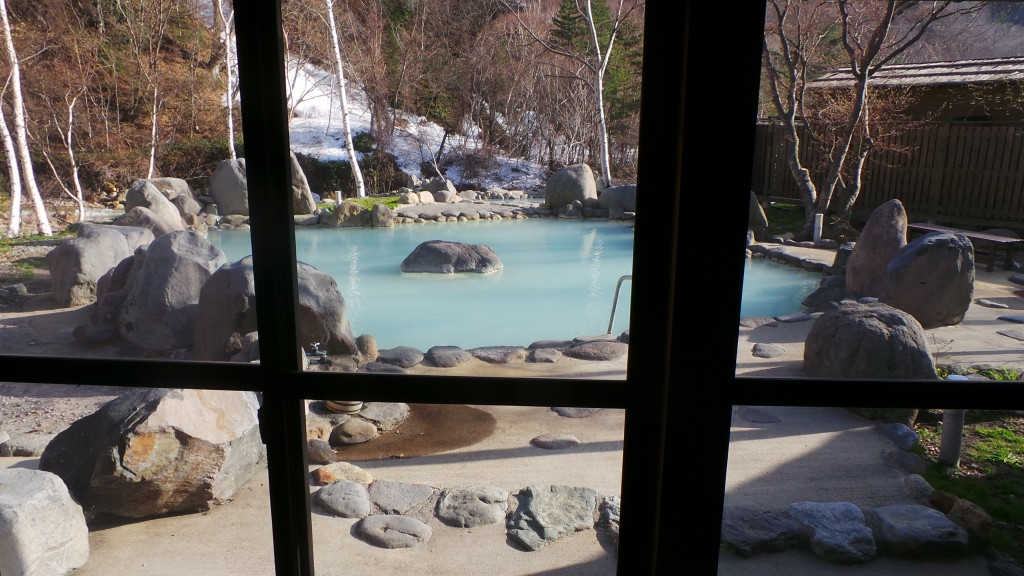 Japanese mountain onsen