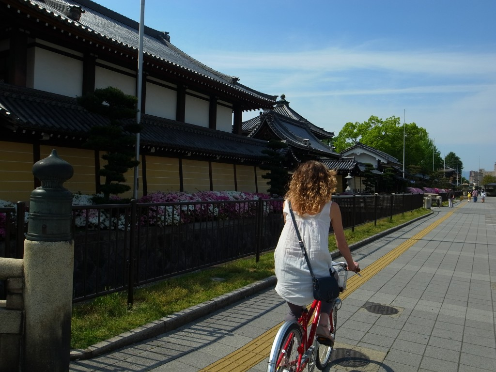 Rent a bike in Kyoto