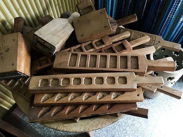 Obuse japan houten mallen
