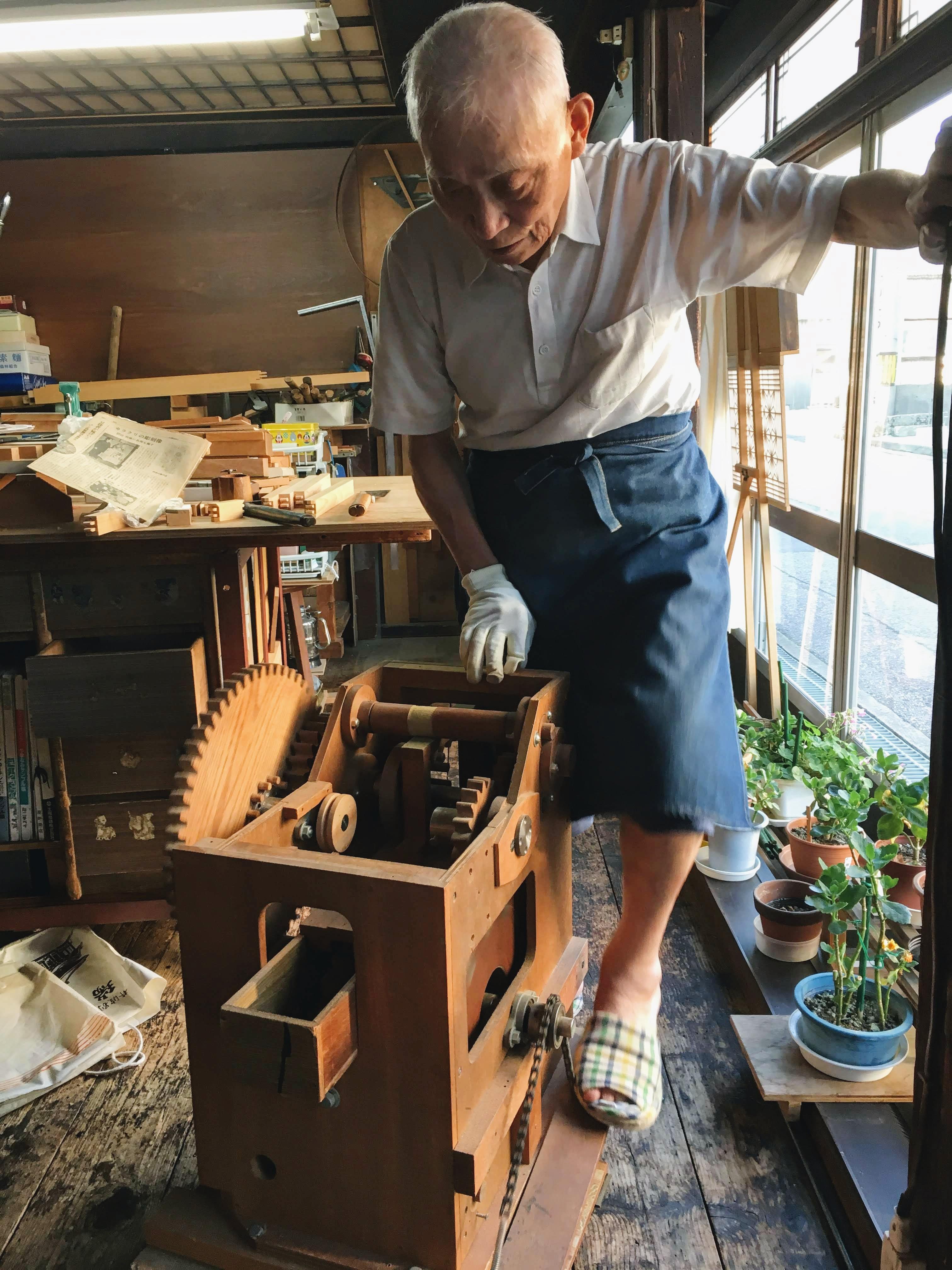 inami japan hout ambacht