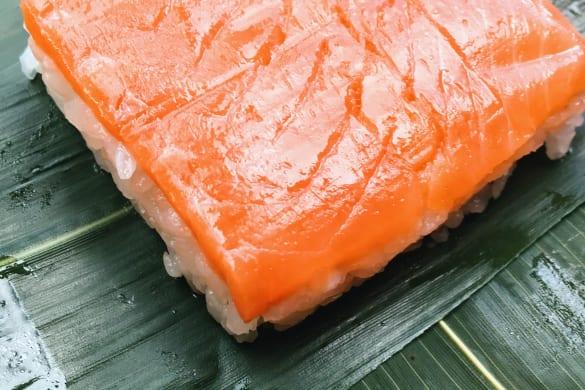 zalm sushi food japan