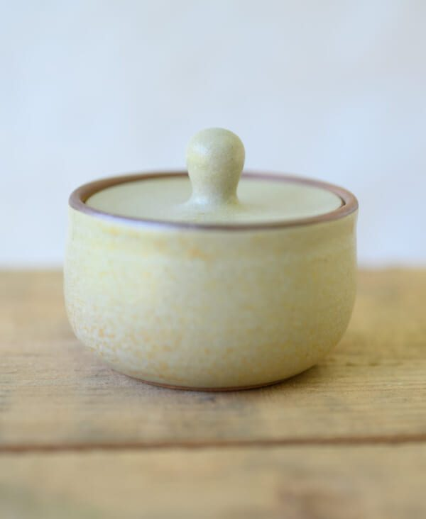 small lidded japanese container