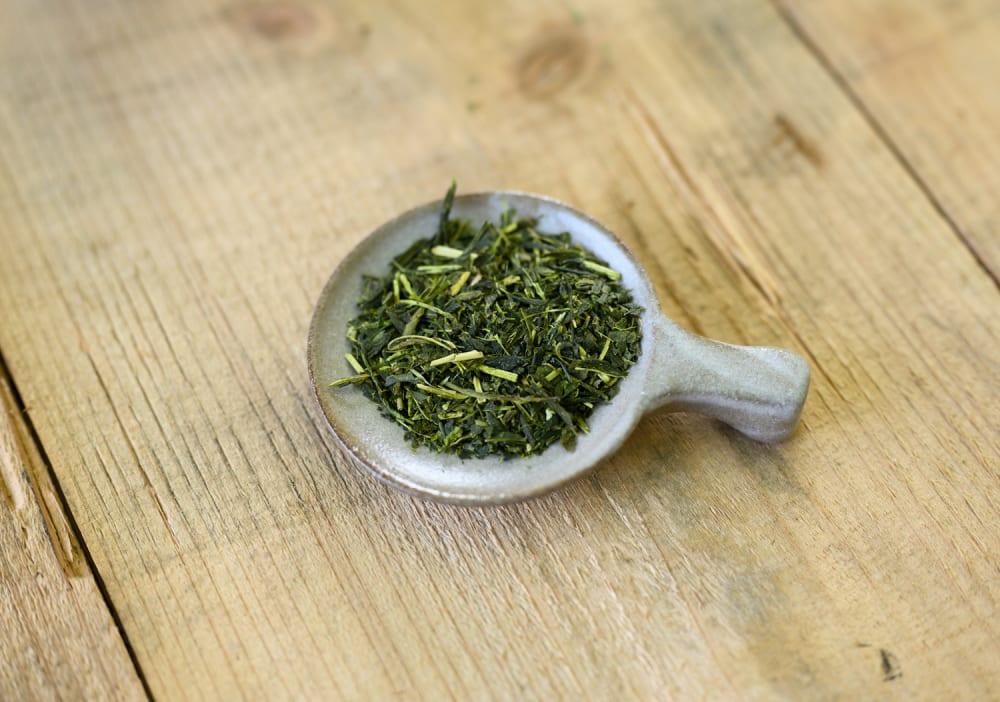 Japanese tea scoop